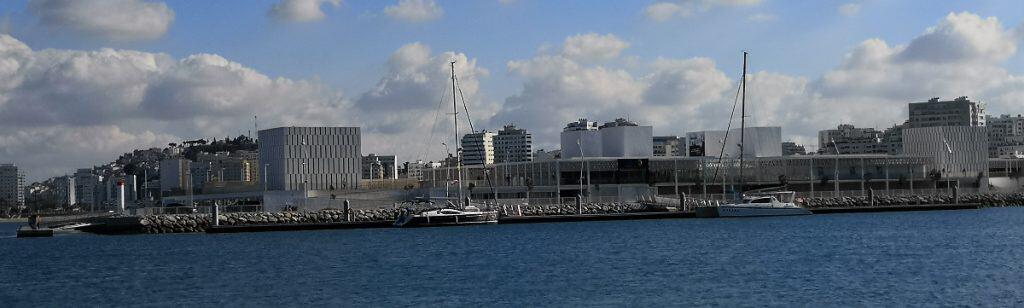 Muelle Espera Marina Tanger