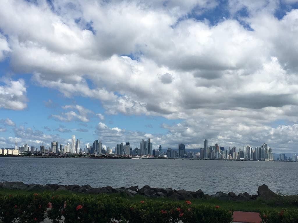 Skyline de Panama City.