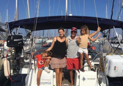 La familia Saramia en Valencia